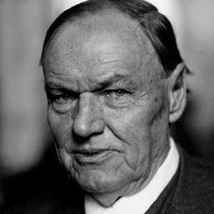 A photograph of Clarence Darrow.
