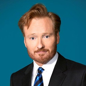 A photograph of Conan O'Brien.