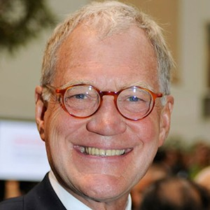 A photograph of David Letterman.