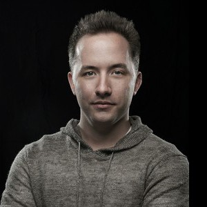 A photograph of Drew Houston.
