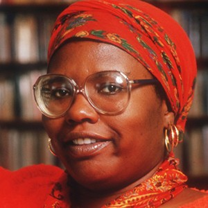 A photograph of Gloria Naylor.