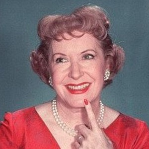 A photograph of Gracie Allen.