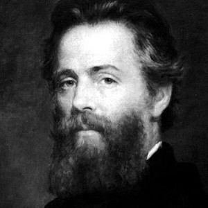 A photograph of Herman Melville.