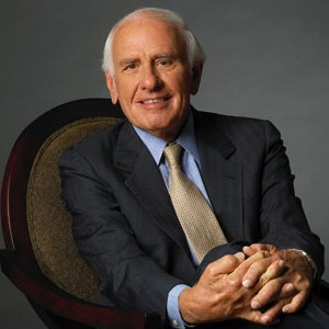 A photograph of Jim Rohn.