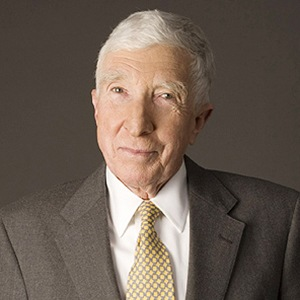A photograph of John Updike.
