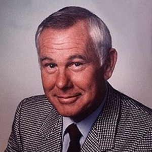 A photograph of Johnny Carson.