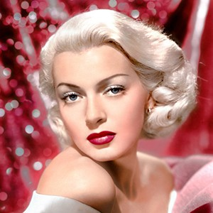 A photograph of Lana Turner.