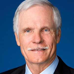 A photograph of Ted Turner.
