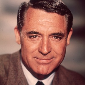 A photograph of Cary Grant.