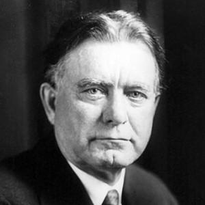 A photograph of William Borah.