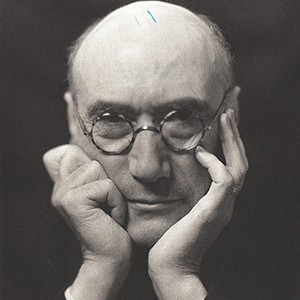 A photograph of André Gide.