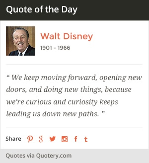 WordPress plugin and widget showing a quote of the day.