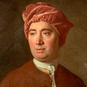 A photograph of David Hume.