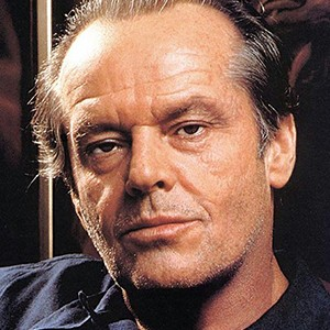 A photograph of Jack Nicholson.