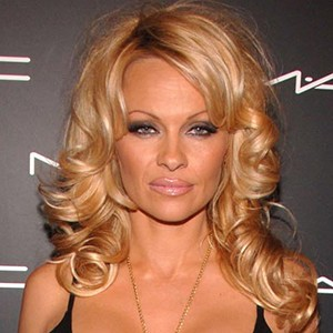 A photograph of Pamela Anderson.