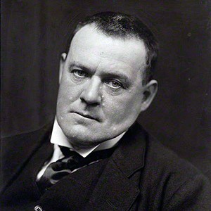 A photograph of Hilaire Belloc.