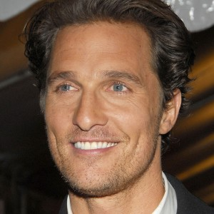 A photograph of Matthew McConaughey.