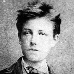 A photograph of Arthur Rimbaud.