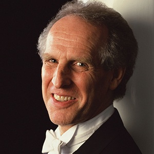 A photograph of Benjamin Zander.