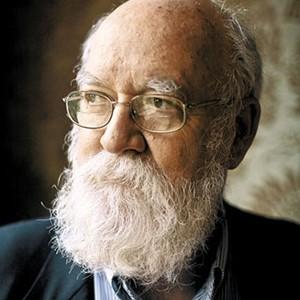 A photograph of Dan Dennett.