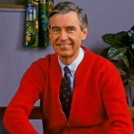 A photograph of Fred Rogers.