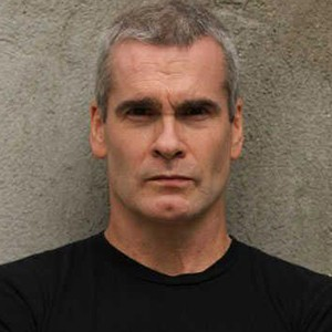 A photograph of Henry Rollins.