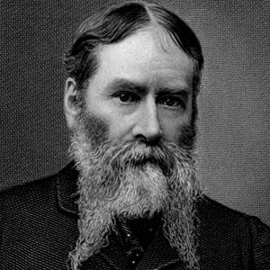 A photograph of James Russell Lowell.