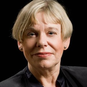 A photograph of Karen Armstrong.