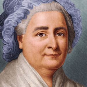 A photograph of Martha Washington.