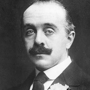 A photograph of Max Beerbohm.