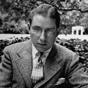 A photograph of Ogden Nash.