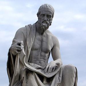 A photograph of Polybius.