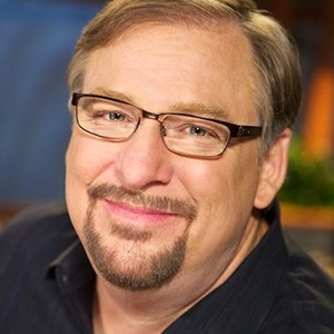 A photograph of Rick Warren.