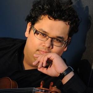 A photograph of Robert Gupta.