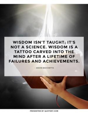 wisdom-isn't-taught