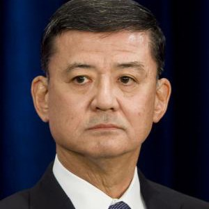 A photograph of Eric Shinseki.