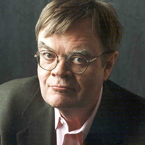 A photograph of Garrison Keillor.