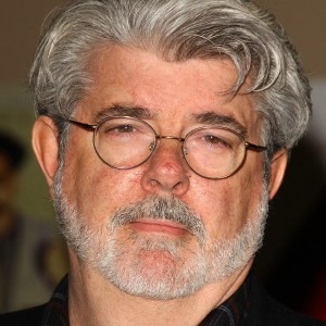 A photograph of George Lucas.
