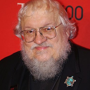 A photograph of George R. R. Martin.