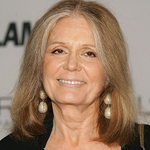 A photograph of Gloria Steinem.