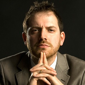 A photograph of Joe Abercrombie.