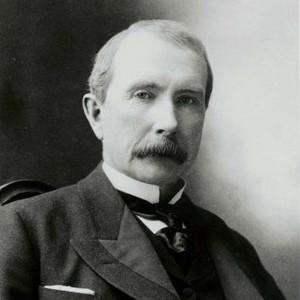 A photograph of John D. Rockefeller.