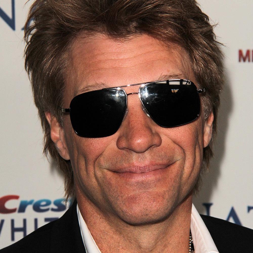 A photograph of John Francis Bongiovi (Jr.) (Jon Bon Jovi).
