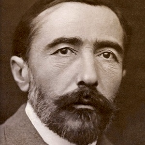 A photograph of Joseph Conrad.