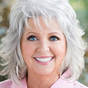 A photograph of Paula Deen.