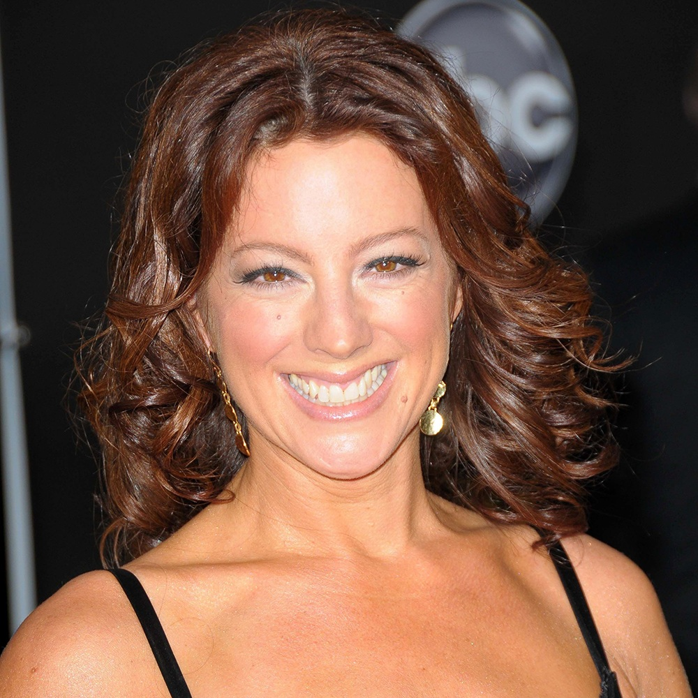 A photograph of Sarah McLachlan.