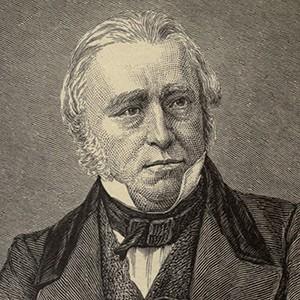 A photograph of Thomas Babington (Lord Macaulay).