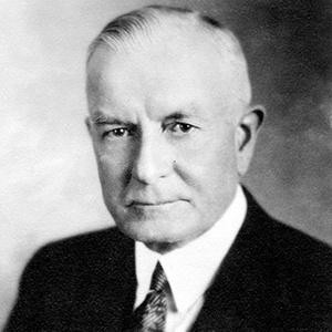 A photograph of Thomas Watson (Sr.).