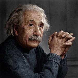 Photograph of Albert Einstein