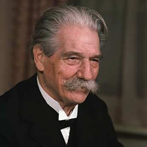 Photograph of Albert Schweitzer